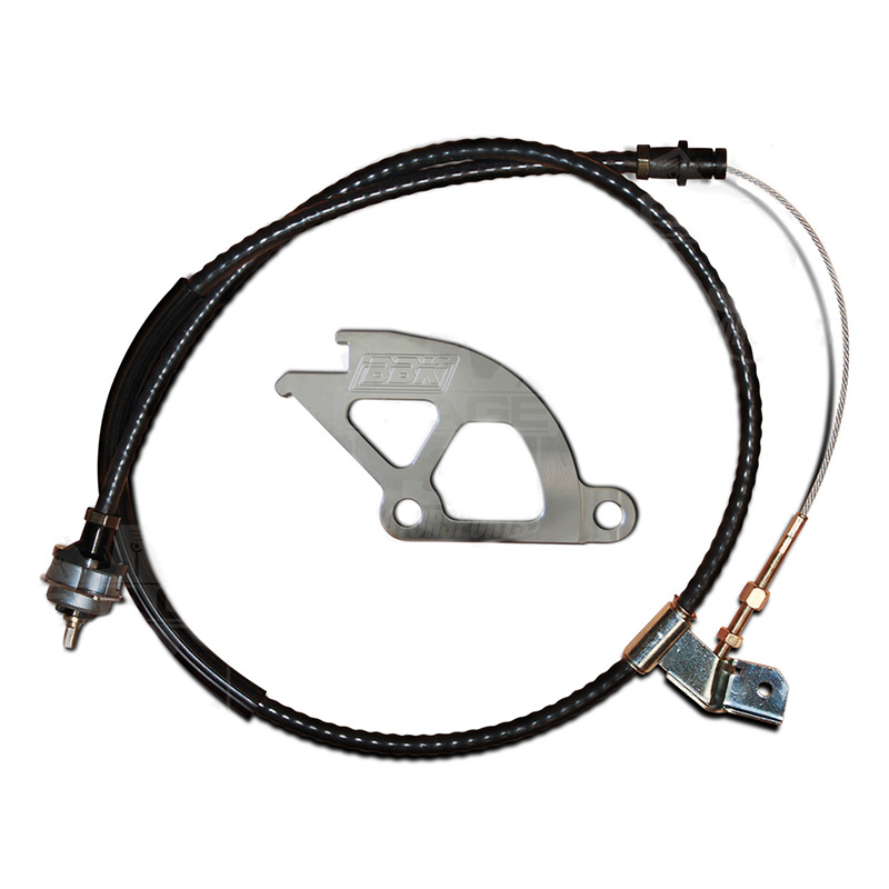 1996-2004 Mustang BBK Adjustable Clutch Quadrant & Cable