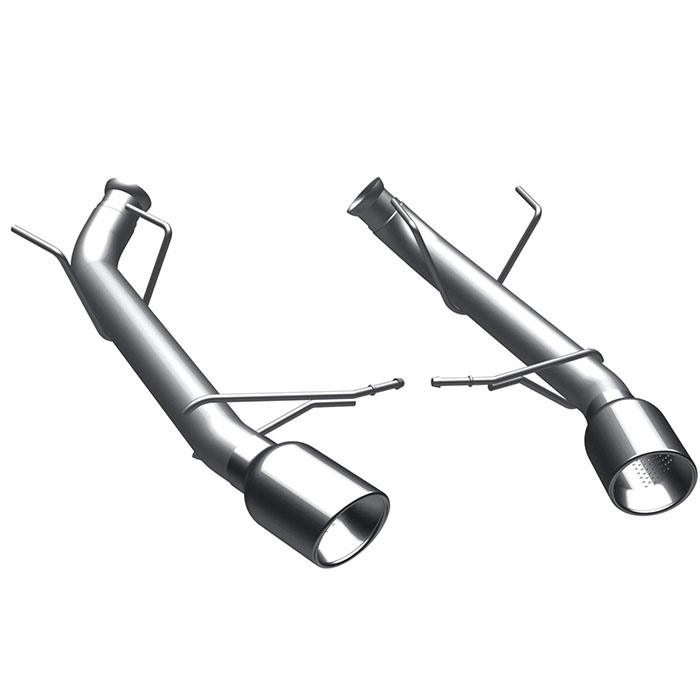 11-12 Mustang V6 3.7L MagnaFlow Competition Series Axle-back Exhaust System