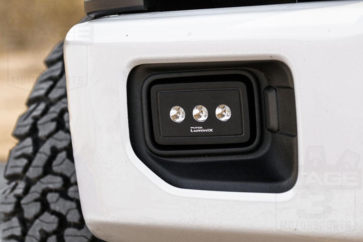 putco luminix high power led fog lights  lumens