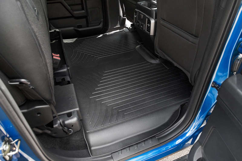 Weather Tech Mats >> 2015-2020 F150 SuperCrew with Front Buckets WeatherTech ...
