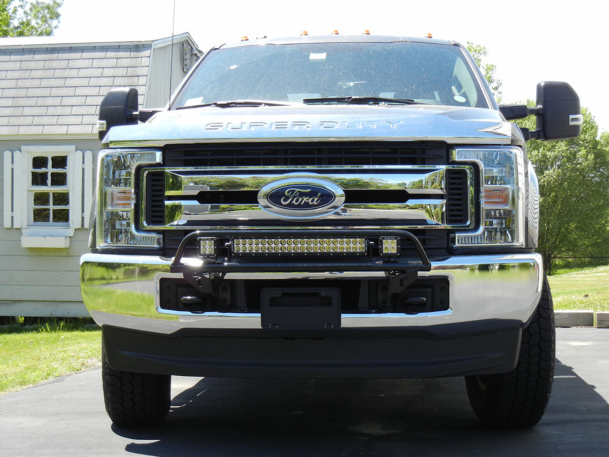 2017 2018 f250 f350 n fab off road light bar for 30 led light w hover to zoom aloadofball Image collections