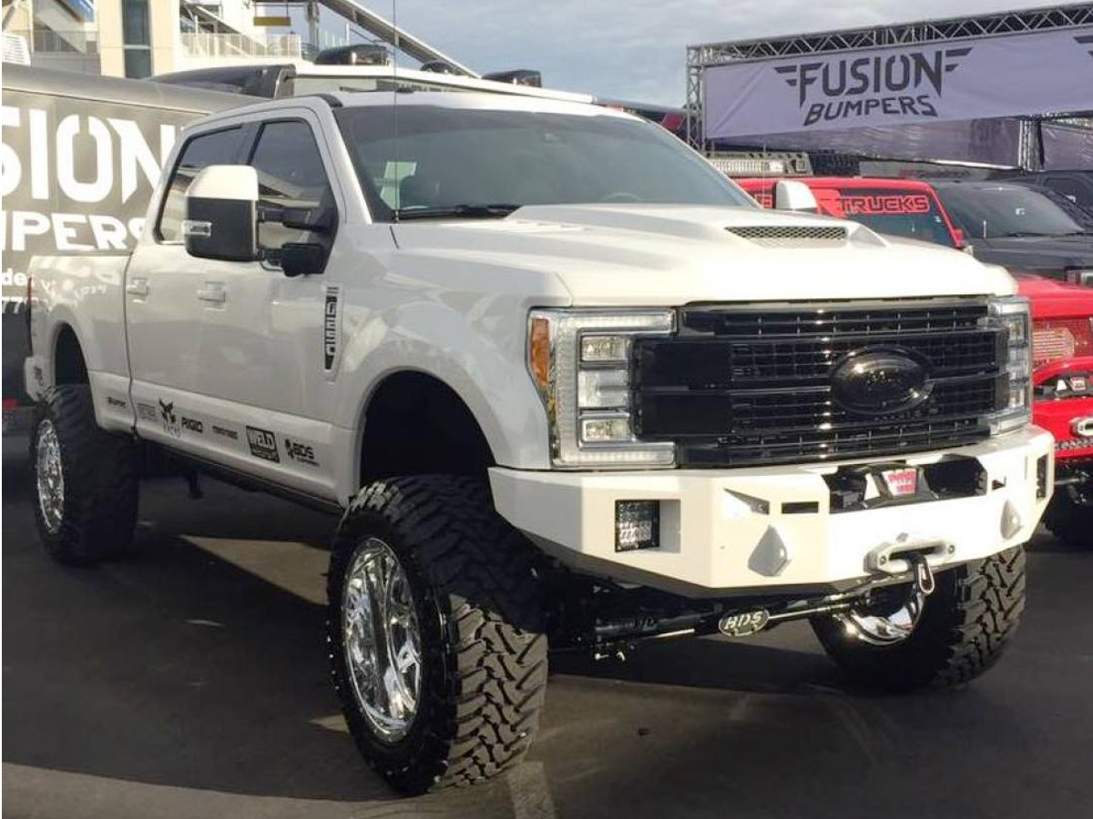 2017 Ford F350 >> 2017-2018 F250 & F350 Super Duty Fusion Front Off-Road Bumper 17FORDFB
