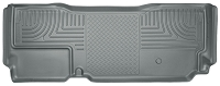 2011-2016 F250 & F350 Super Cab Husky WeatherBeater Rear Floor Mat (Gray)