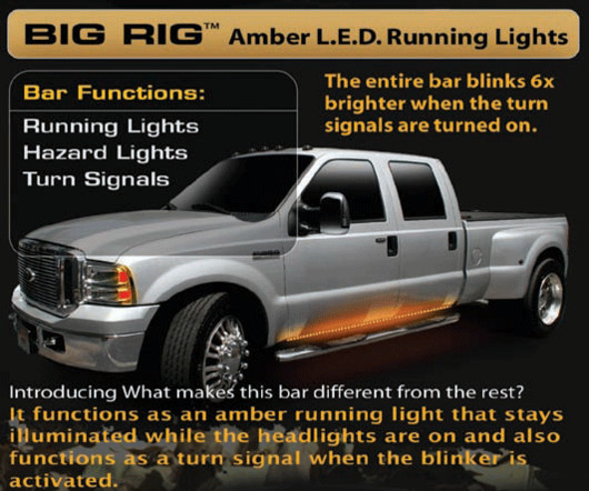 1999 2015 F250 Amp F350 Superduty Recon Led Big Rig Running