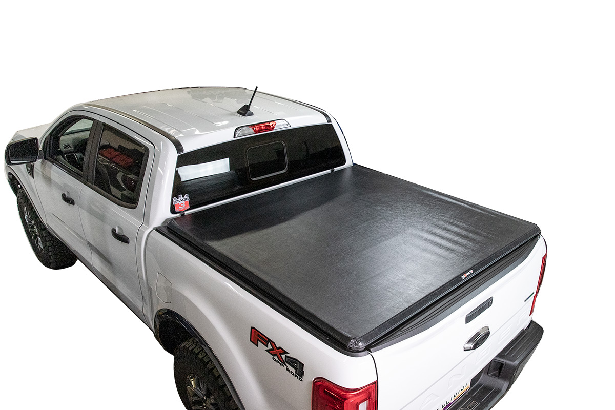 2019-2020 Ford Ranger 6ft Bed TruXedo Edge Soft-Rolling Tonneau Cover