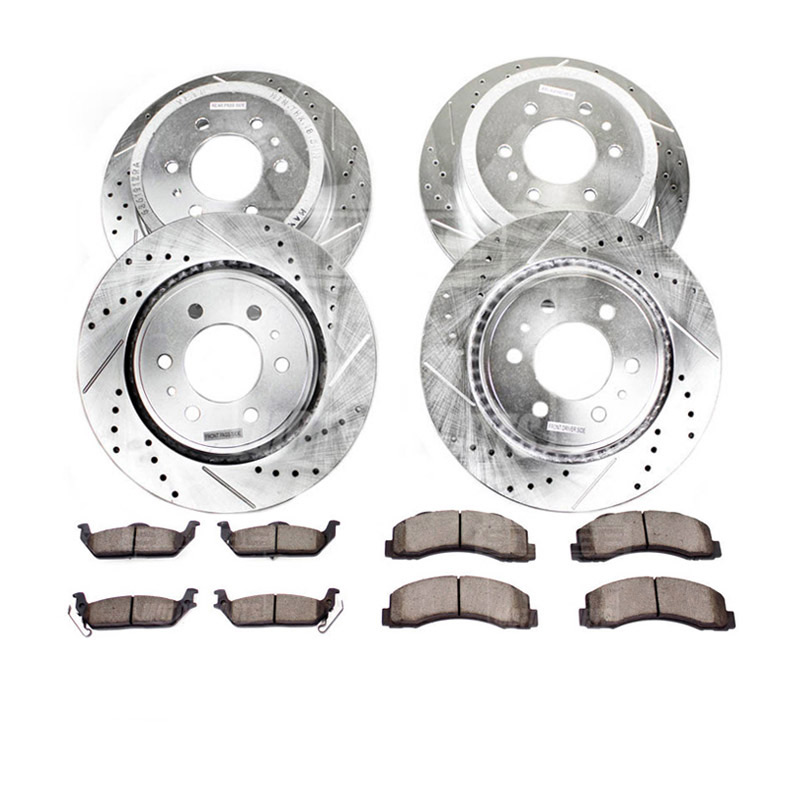 Stoptech 937.65528 Street Axle Pack Rear Slotted
