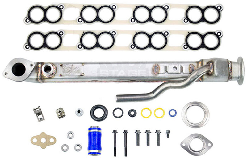 2004-2007 F250 & F350 6.0L aFe Square EGR Cooler with Gaskets