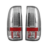 1997-2003 F150 Recon Lighting LED Tailights (Clear)