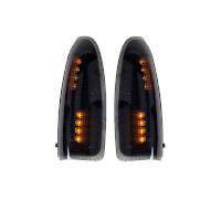2003-2007 F250 & F350 Recon Lighting LED Side Mirror Lights (Smoked/Amber)
