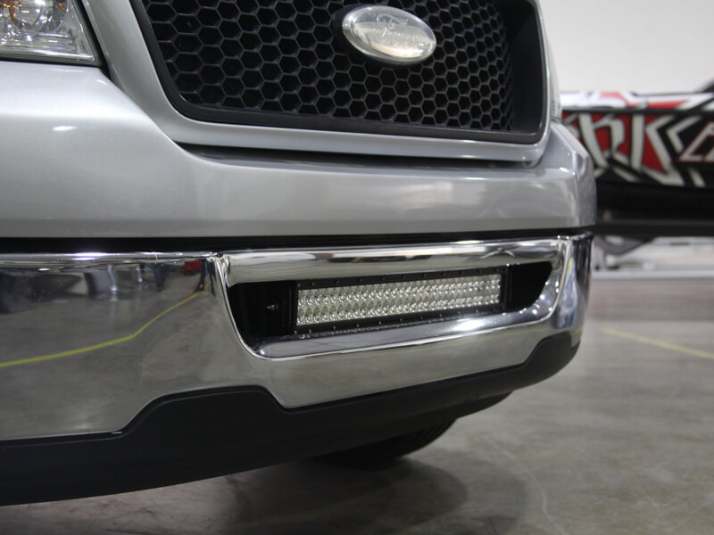 2006 Ford F250 Front Bumper >> 2006-2008 F150 Rigid Industries LED Front Bumper Mount Kit (For E-Series) 46519