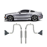 05-09 Mustang V6 Convertible Cervini's Side Exhaust Kit