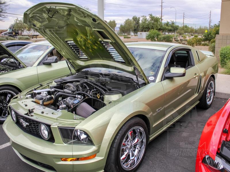 2005 2009 Mustang Trufiber A44 Gt S Iii Ram Air Hood 10024 A44
