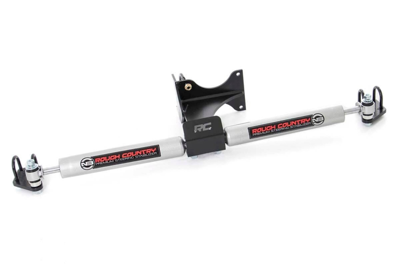 rough country 2.2 dual steering stabilizer