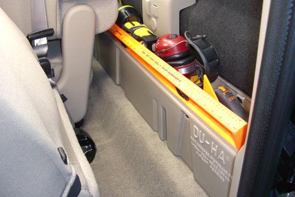 2000-2016 F250 & F350 SuperCab DU-HA Under Seat Storage ...