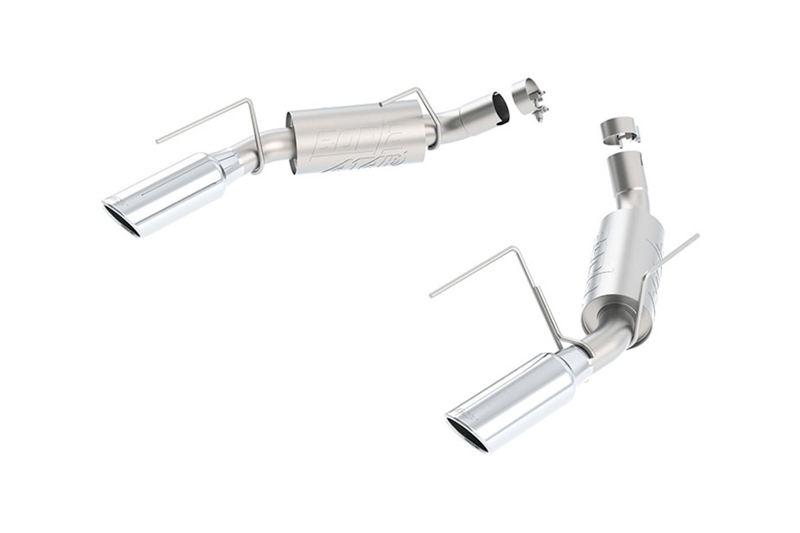 2005-2009 Mustang GT 4.6L Borla ATAK Axle-Back Exhaust System
