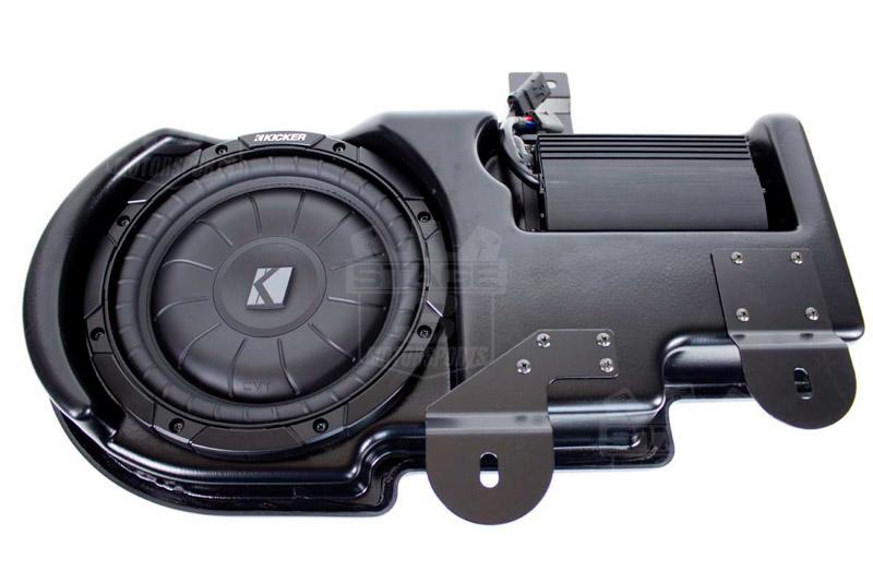 20092014 F150 Kicker VSS SubStage Powered Subwoofer Kit Super Crew