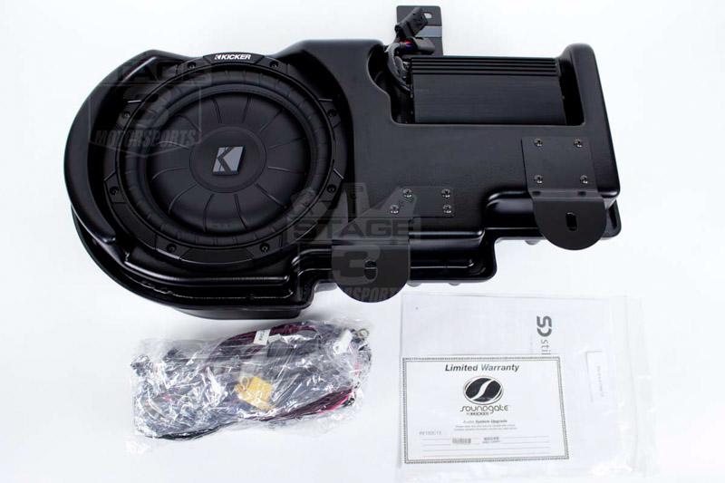 2009-2014 F150 & Raptor Kicker VSS SubStage Powered Subwoofer Kit (Super  Crew)