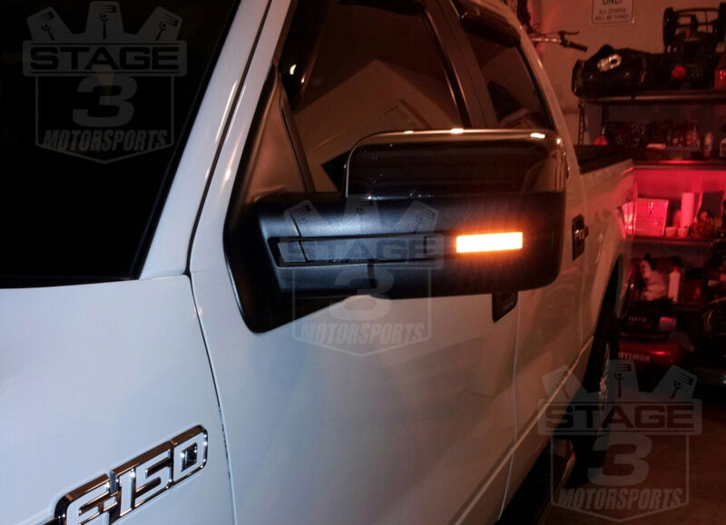 2009 2014 F150 Mirror Lights Puddle Lights And Mirror Caps
