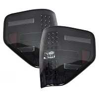 2009-2014 F150 & Raptor Recon LED Tail Lights (Smoked)