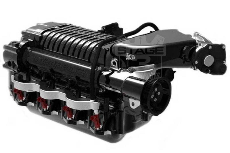 2010-2014 F150 & Raptor 6 2L Whipple 675HP 2 9L Intercooled Supercharger  Kit (Black)