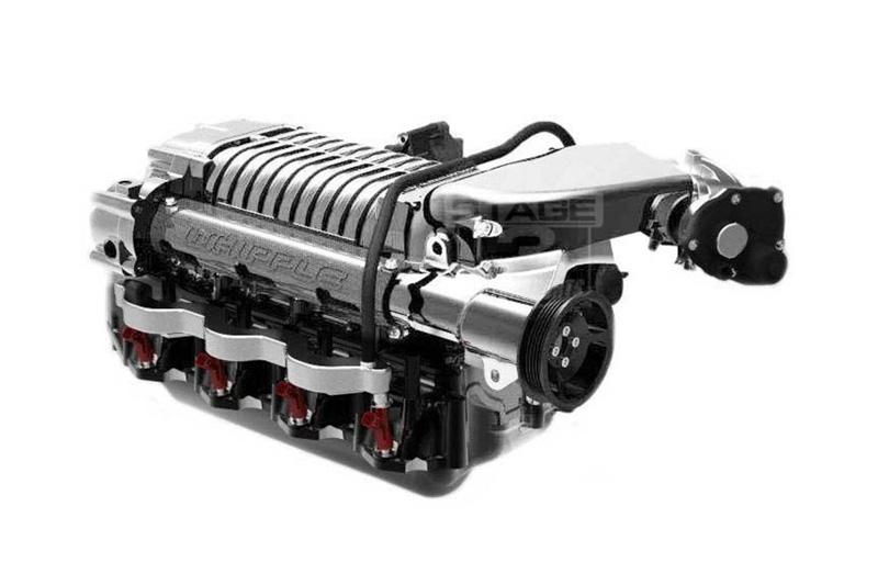 2010-2014 F150 & Raptor 6 2L Whipple 675HP 2 9L Intercooled Supercharger  Kit (Polished)