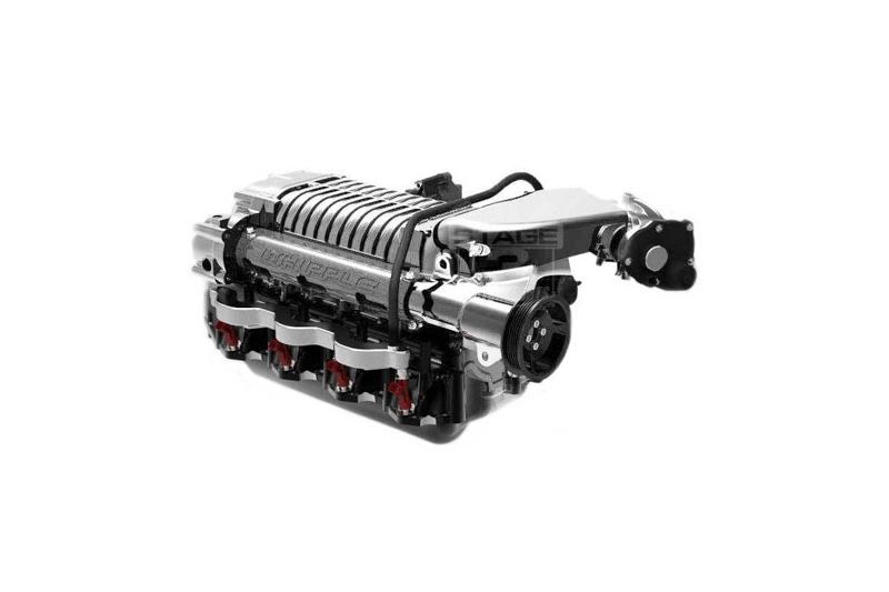 2010-2014 F150 & Raptor 6 2L Whipple 2 9L Intercooled Supercharger Tuner  Kit (Polished)