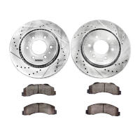 2009 F150 & Raptor Power Stop Z23 Front Brake Kit (6-Lug Only)