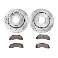 2010-2014 F150 & Raptor Power Stop Z23 Front Brake Kit (6-Lug Only)
