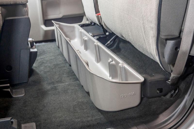 2015 2020 F150 Super Cab Du Ha Underseat Storage Unit Gun