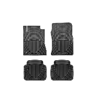 2010-2014 Mustang WeatherTech All-Weather Full Floor Mats (Black)
