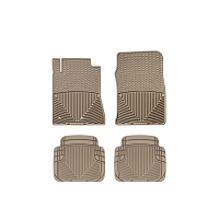 2010-2014 Mustang WeatherTech All-Weather Full Floor Mats (Tan)