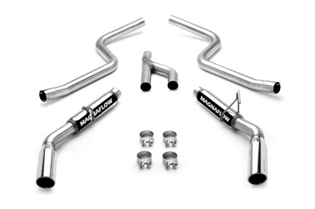 2010 Mustang Magnaflow V6 Cat Back Dual Exhaust System