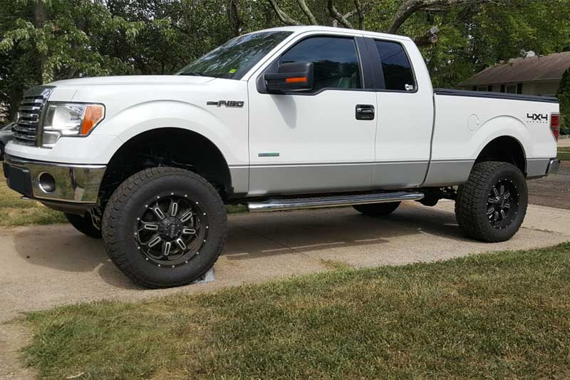 6 Inch Lift Kit For Ford F150 4X4 >> 2011 2014 F150 4wd Rough Country 6 Inch Lift Kit