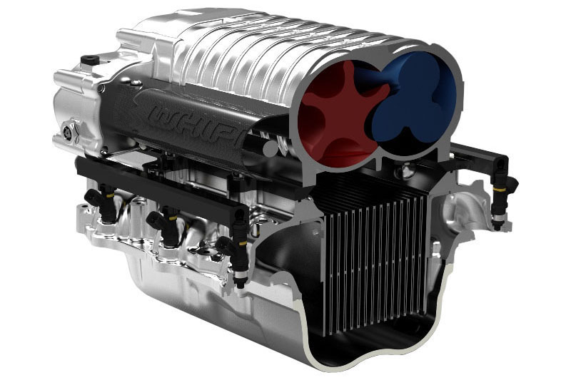 2011-2014 Mustang GT 5 0L Whipple 2 9L Stage 1 Complete Supercharger Kit