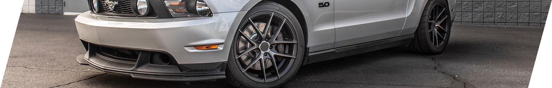 Stage 3 Mustang Wheels and Tires