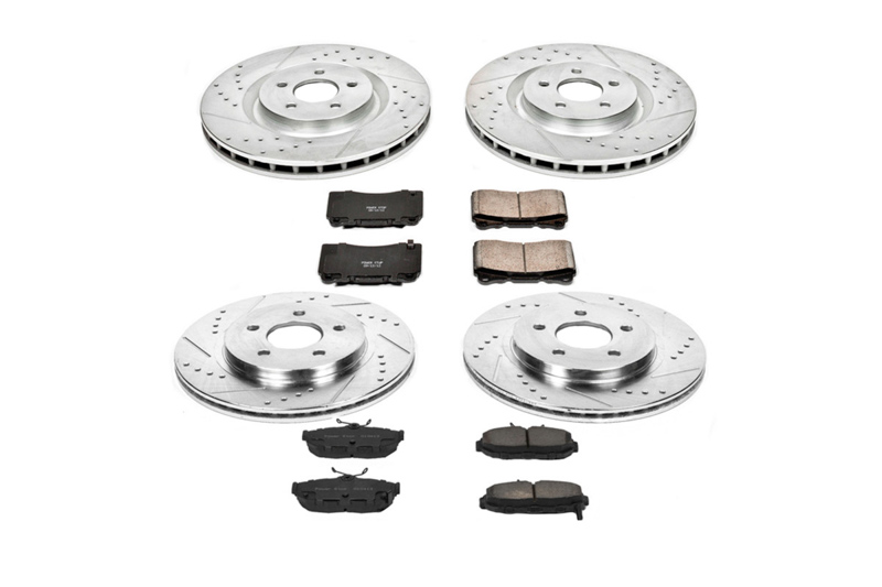 2011-2014 Mustang GT / Boss Power Stop Z23 Brake Kit (Brembo Mustangs)