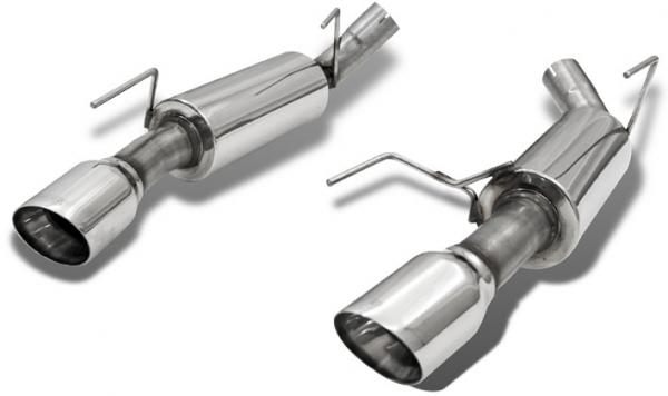 11-14 Mustang V6 3.7L Bassani Axle Back Exhaust System