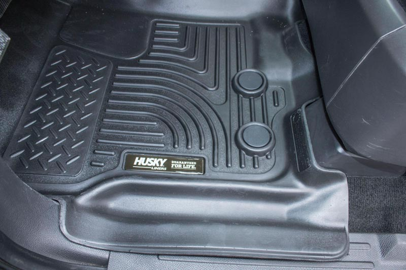 2012 Ford Focus Parts >> 2012-2016 Ford Expedition Husky WeatherBeater� Front Floor Mats (Black) 18371