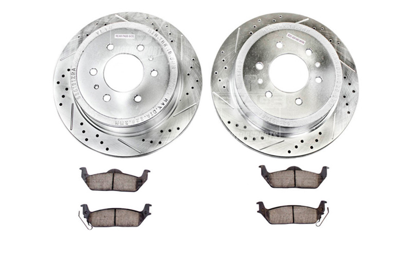 2012-2014 F150 & Raptor Power Stop Z23 Rear Brake Kit (6-Lug Only)