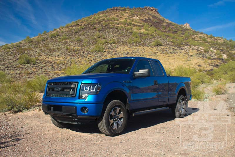 2009-2013 F150 4WD FOX Stage 1 Suspension Package FOX-STAGE14WD
