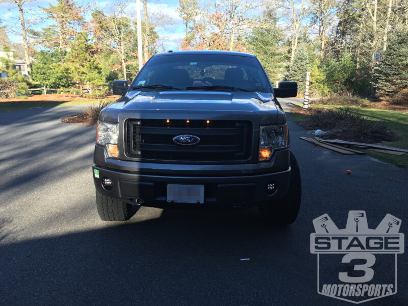 2013-2014 F150 Raptor-Style Grille Kit Installed on a 2014 F150