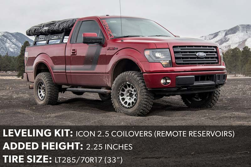 2014 F150 Leveling Kit with 285/70R17 Tires