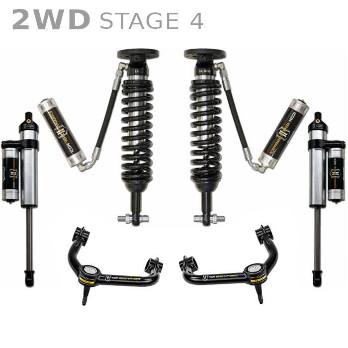 2014 f150 2wd icon 0-3 u0026quot  lift kit