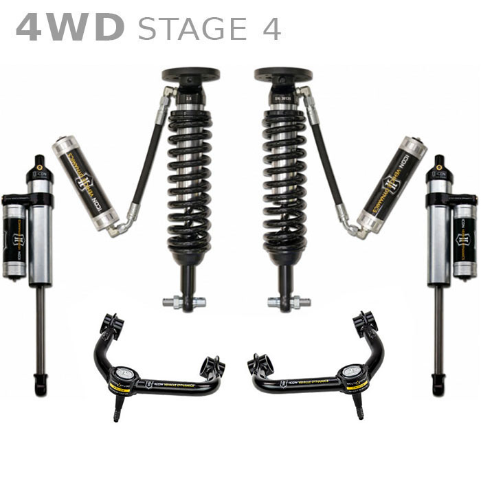 2014 f150 4wd icon 0-3 u0026quot  lift kit