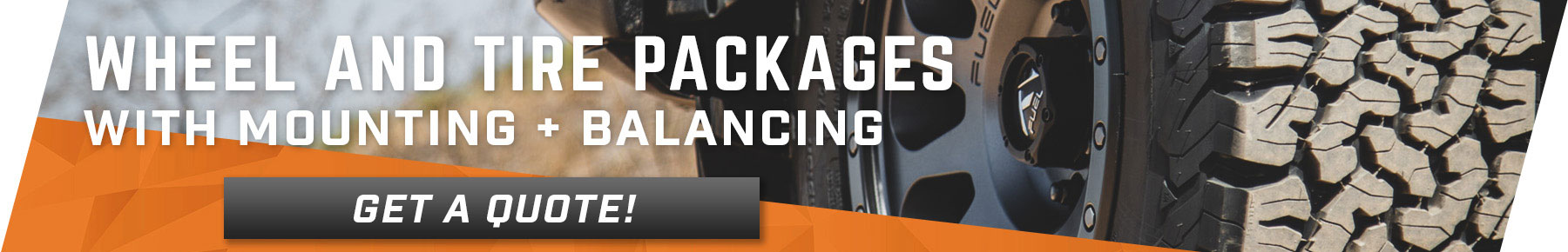 F150 Wheel and Tire Packages!