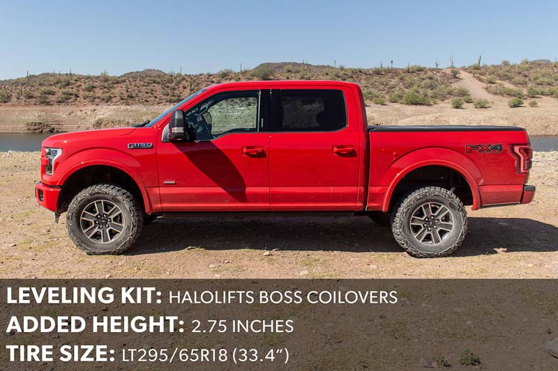 2015 F150 Leveling Kit with 295/65R18 Tires