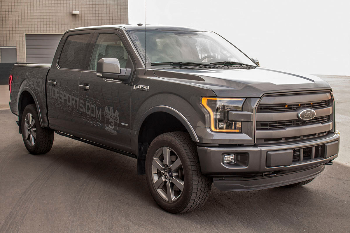 Stage 3's 2015 F150 2.7L EcoBoost Project Truck