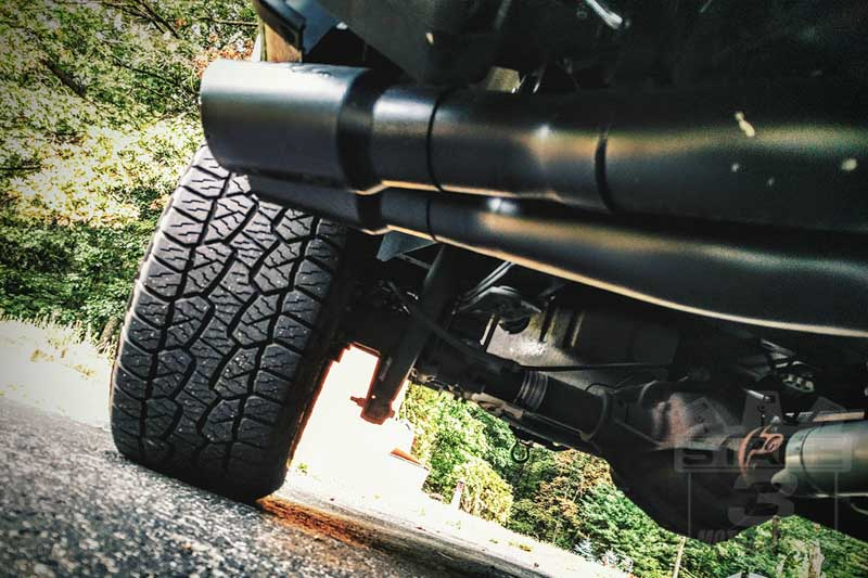2015-2019 F150 5.0L & EcoBoost MBRP Black Series Pre-Axle Dual Exhaust Kit S5260BLK