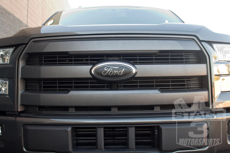 2015-2017 F150 Blackout Grey Badge Overlay Kit Install
