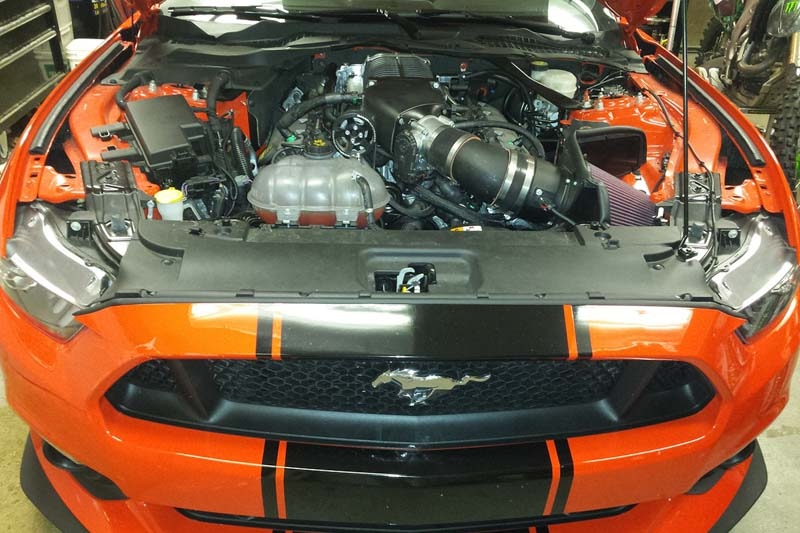 2015-2017 Mustang GT 5.0L Whipple 2.9L Supercharger Kit WK ...